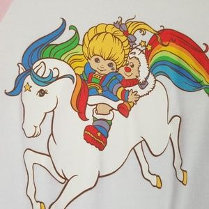 bella Tops - Rainbow Brite baseball shirt
